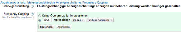 adwords-frequency-capping