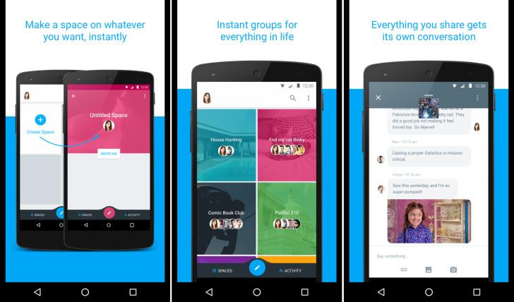 Spaces Google Testet Neue Sharing App Mit Gruppen Konversationen
