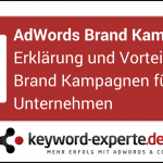 AdWords Brand Kampagnen