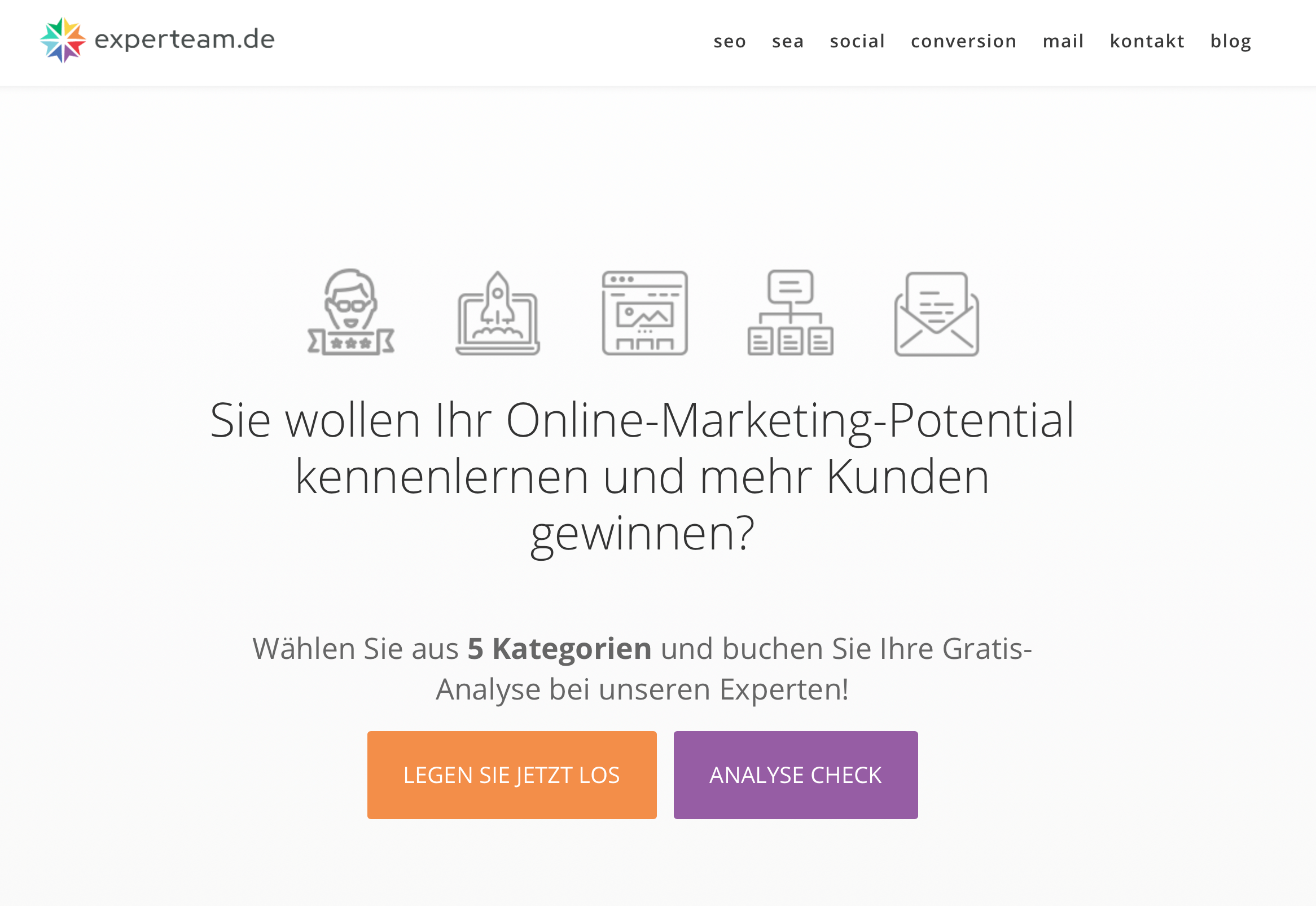 AdWords Landingpage
